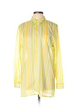 Escada Sport Long Sleeve Button-Down Shirt Size L