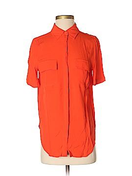 Porridge Short Sleeve Button-Down Shirt Size XS