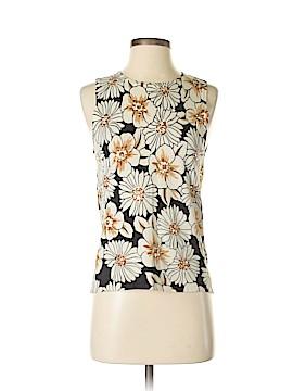 SML Design Sleeveless Silk Top Size S