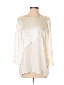 Club Monaco 3/4 Sleeve Silk Top Size S (Petite)