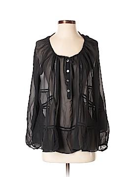 Paul & Joe Long Sleeve Silk Top Size Sm (1)