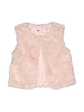 H&M Faux Fur Vest Size 7 - 8