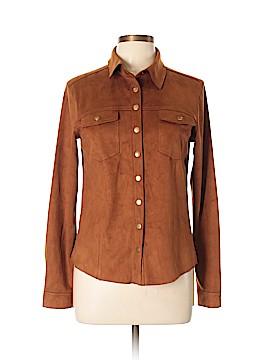 Glamorous Long Sleeve Button-Down Shirt Size L