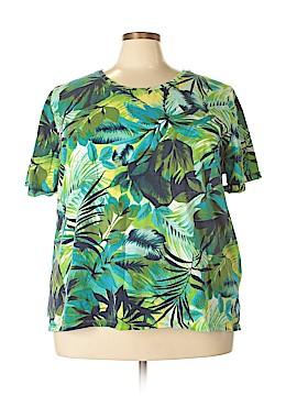 Liz & Me Short Sleeve T-Shirt Size 3X (Plus)