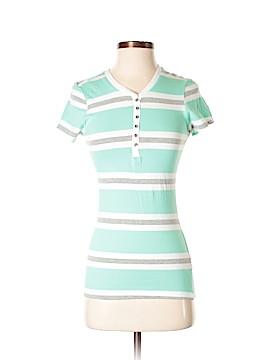 Hype Short Sleeve Henley Size S