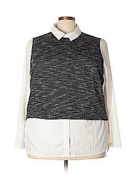 JunaRose Long Sleeve Blouse Size 22 (Plus)