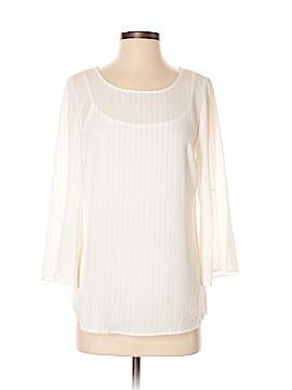 Roz & Ali 3/4 Sleeve Blouse Size XS