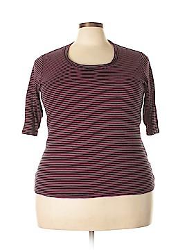 Sejour 3/4 Sleeve T-Shirt Size 2X (Plus)