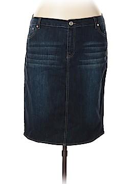 Baccini Denim Skirt Size 16