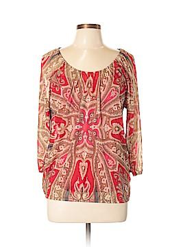 INC International Concepts 3/4 Sleeve Blouse Size XL