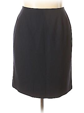 Rena Rowan for Saville Wool Skirt Size 20 (Plus)