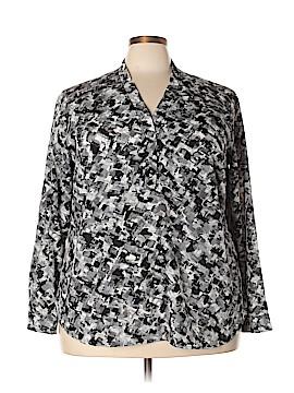 Jones Studio Long Sleeve Blouse Size 3X (Plus)