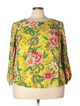 Ann Taylor LOFT Long Sleeve Blouse Size 20 (Plus)