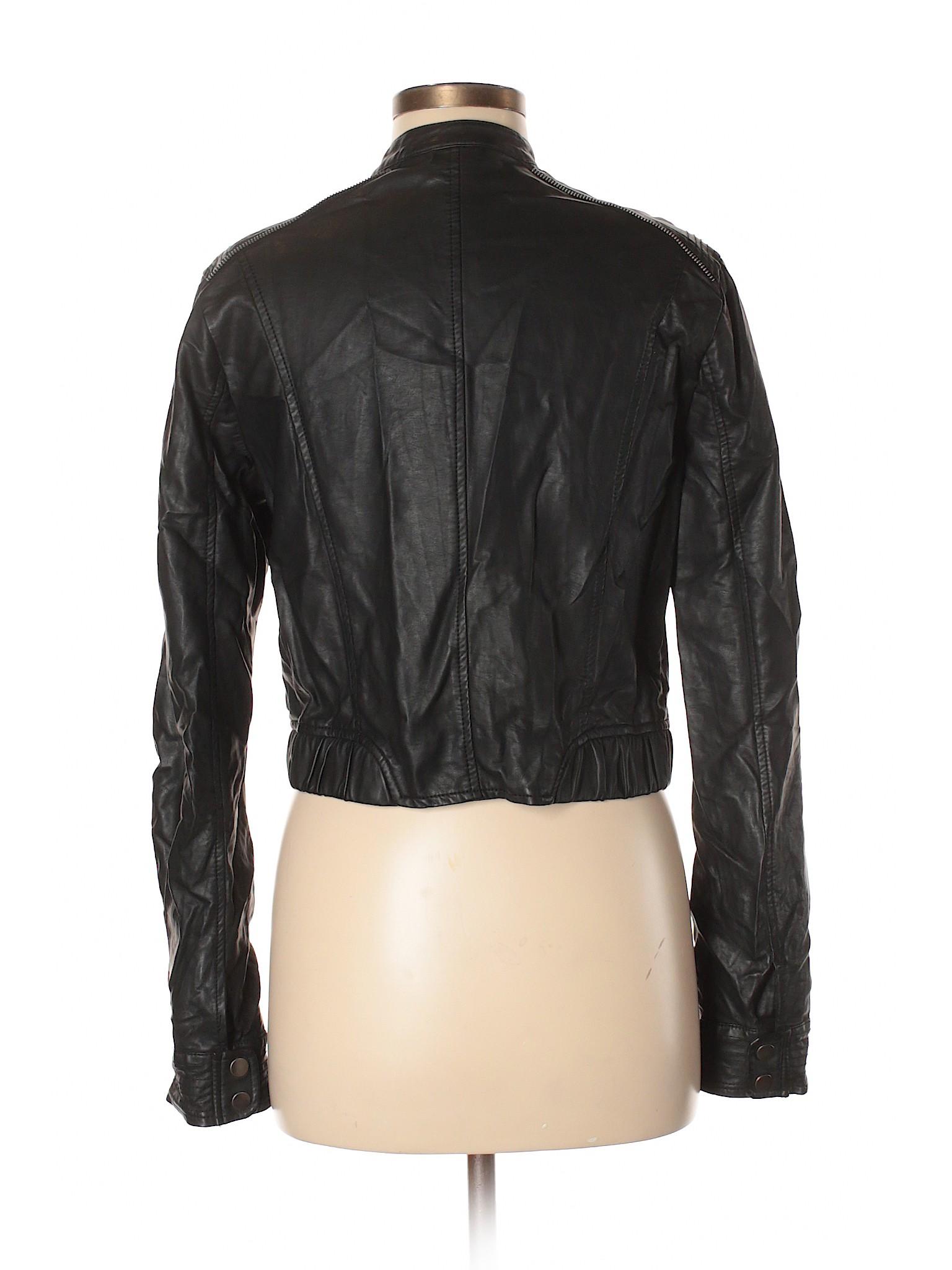 winter Jacket Faux Lauren Boutique LC Conrad Leather Fd8UwTxq