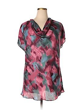 CALVIN KLEIN JEANS Short Sleeve Blouse Size 1X (Plus)