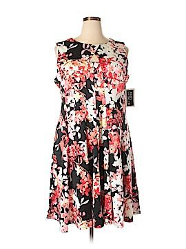 Julian Taylor Casual Dress Size 24 (Plus)