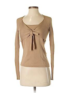 Etcetera Long Sleeve Silk Top Size XS