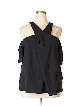RACHEL Rachel Roy Short Sleeve Blouse Size 18 (Plus)