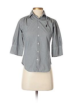Ralph Lauren Sport 3/4 Sleeve Button-Down Shirt Size 2