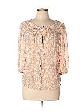 Yoana Baraschi 3/4 Sleeve Blouse Size L