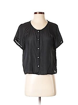 Frame Shirt London Los Angeles Short Sleeve Blouse Size S