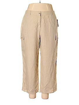 Kate Hill Linen Pants Size 16