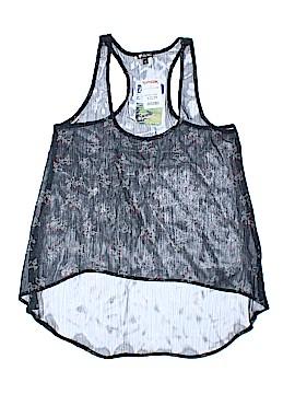 Lily White Sleeveless Blouse Size L