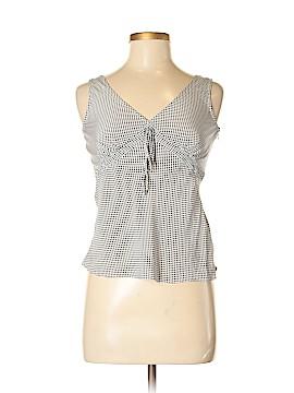 Isaac Mizrahi Sleeveless Silk Top Size S