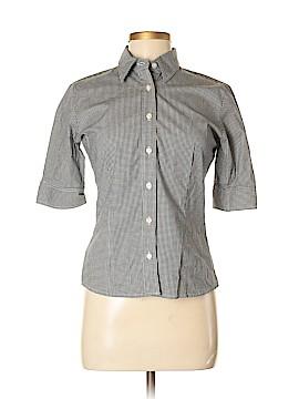 Jones New York Sport 3/4 Sleeve Button-Down Shirt Size S