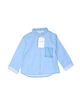 Zara Baby Long Sleeve Button-Down Shirt Size 104cm