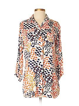 CAbi 3/4 Sleeve Button-Down Shirt Size S