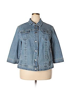 J.jill Denim Jacket Size 3X (Plus)