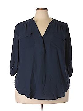 Torrid 3/4 Sleeve Blouse Size 2X Plus (2) (Plus)
