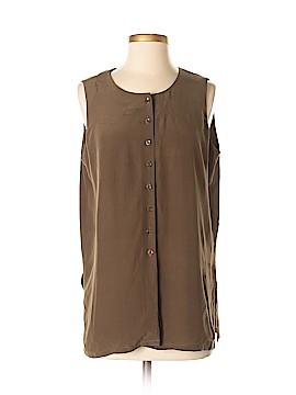 Jones New York Sleeveless Silk Top Size 8