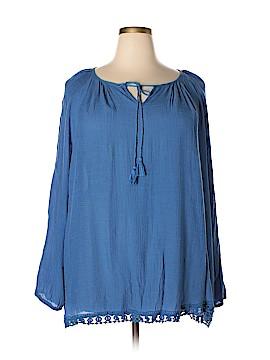 Avenue Long Sleeve Blouse Size 26 - 28 Plus (Plus)