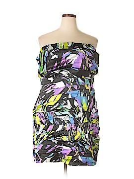 Snap Casual Dress Size 3X (Plus)