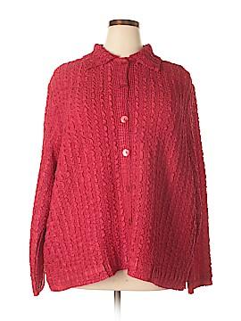 DressBarn Long Sleeve Top Size 3X (Plus)