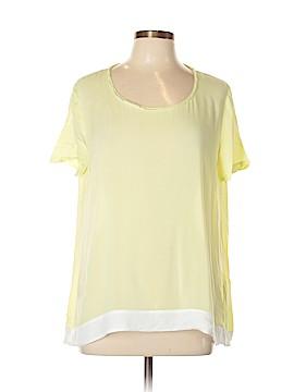 PureDKNY Short Sleeve Blouse Size L