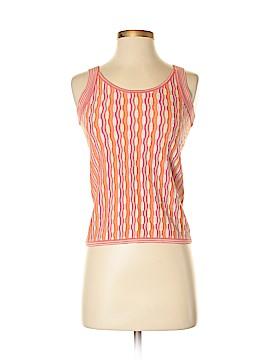 Sigrid Olsen Sleeveless Silk Top Size S