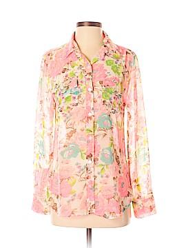 Dylan Long Sleeve Button-Down Shirt Size XS