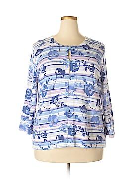 Liz Claiborne Cardigan Size 1X (Plus)