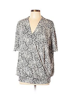 AK Anne Klein Short Sleeve Top Size XL