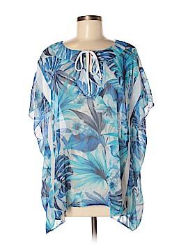 Neiman Marcus Short Sleeve Blouse Size M