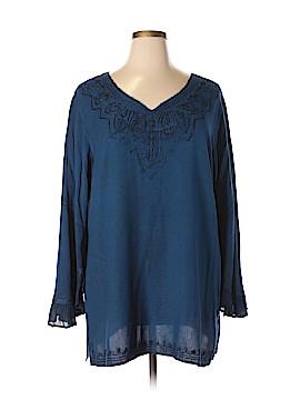 Holy Clothing Long Sleeve Blouse Size XL - 1X