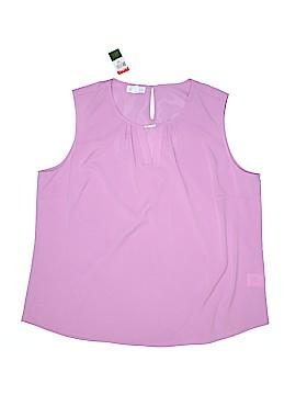 Jaclyn Smith Sleeveless Blouse Size XL
