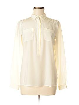 Bogner Long Sleeve Silk Top Size 6