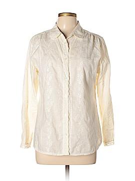 Lilis Closet Long Sleeve Button-Down Shirt Size L