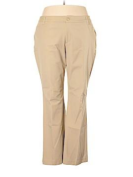 St. John's Bay Casual Pants Size 22w (Plus)