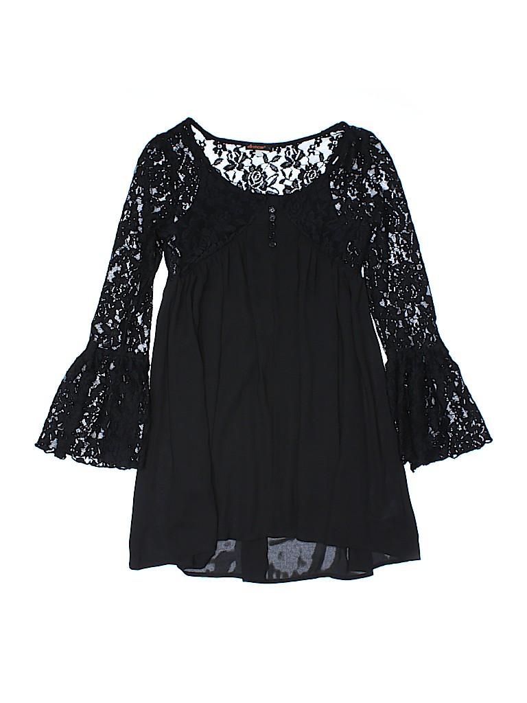 b99591747528 Ella Moss Solid Black Dress Size 10 - 88% off