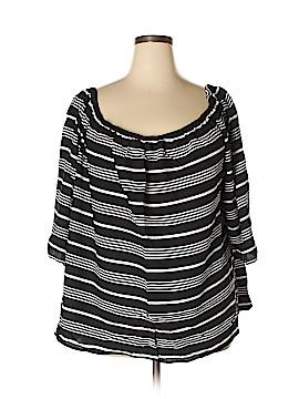 Cynthia Rowley for T.J. Maxx Short Sleeve Blouse Size 3X (Plus)